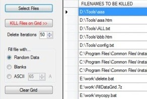 FileKiller Removes File Permanently