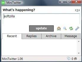 MiniTwitter