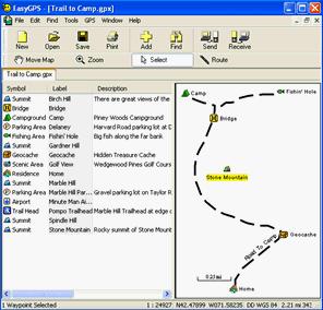 Free GPS Software EasyGPS