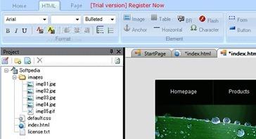 Esite++ Website Creator