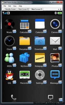 M8 Phone Theme Builder