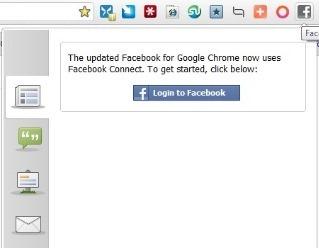 Facebook Chrome App