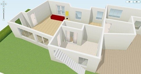 Free floor plan design software Home modeling software