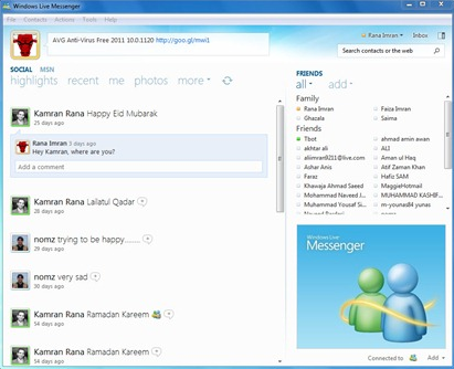 Windows Live Messenger 2011