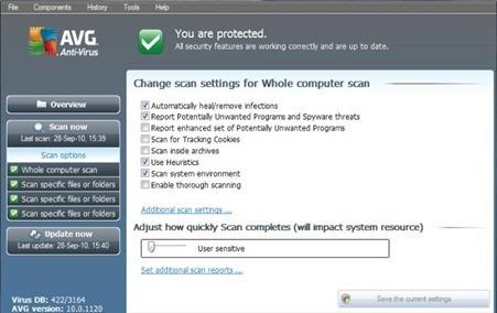 Download AVG Antivirus Pro 2011