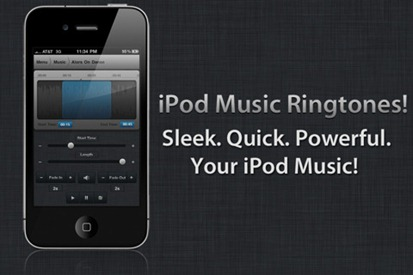 Create iPhone Ringtones with iPod Music