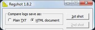 Free Registry Monitor Utility RegShot