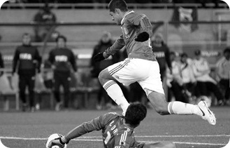 1er gol de Chicharito vs Francia