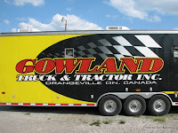 #18 Bruce Gowland hauler with Gowland Truck & Tractor Inc, June 14, 2008