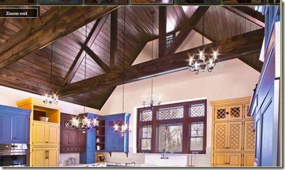 awesome dark wood beams