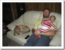 SB, Daddy & Reid, Dec 2009