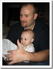 Daddy & Reid, Dec. 25, 2009