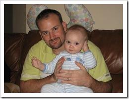 Reid & Daddy, 1-1-10