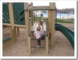 Sadie and Avery at the park...so cute!