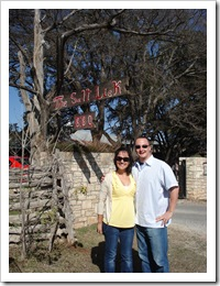 This was Mariana's first trip to the Salt Lick!