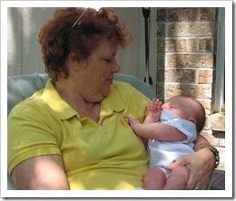 Grandma & Reid, 5-3-09