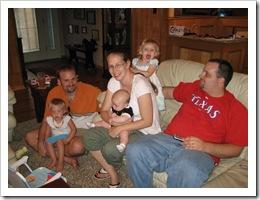 Avery, Jer, Reid, Karon, Annabelle & Chris, 6-19-09
