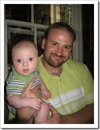 Reid & Daddy, 7-5-09