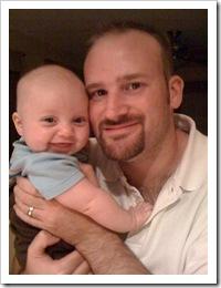 Reid & Daddy, 7-11-09
