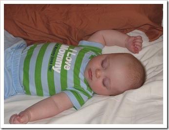 Sleepy Reid after a LOOOONG night, 7-31-09