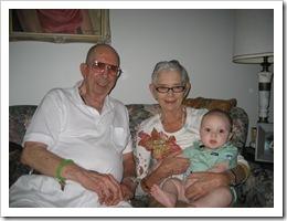 Boyd, Gramma and Reid, 9-11-09
