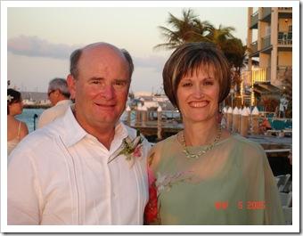 Bob & Dana in Key West, 11-5-05