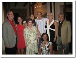 Two families coming together - the Hofers & Girons