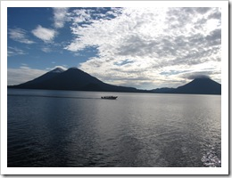 Calm lake Atitlan, 11-11-09
