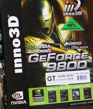 nvidia geforce 9800 1gb vga
