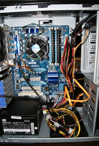 end product p55ud3 4gb ram nvdia