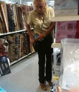 weird people walmart 12