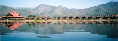 Golden Island Cottages, Inle