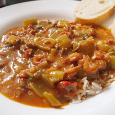 Crawfish Etouffe'