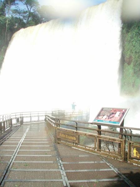 Brad in the falls