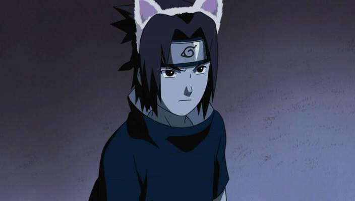 Fave Filler Episodes  Sasuke As A Cat