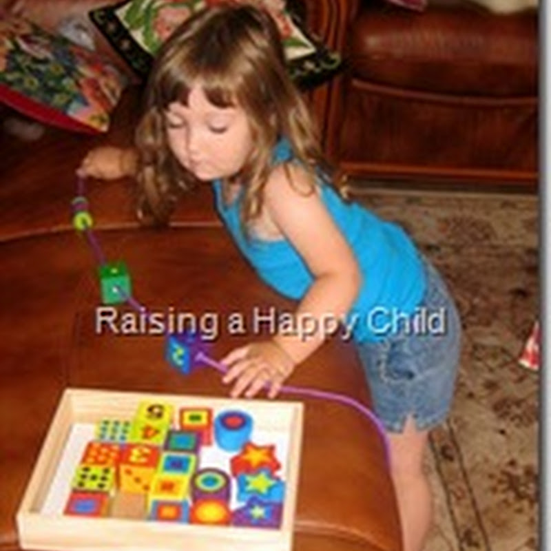 Melissa and Doug Lacing Beads – a Little Too Late?