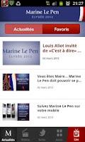 Screenshot of Marine Le Pen 2012
