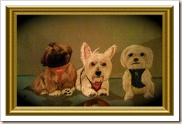 Tres amigos framed