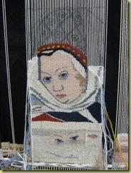 tapestry.medieval spinner. 3.10