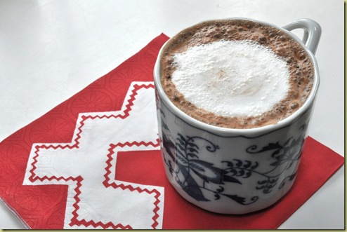 Christmas cup of cocoa