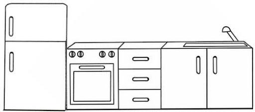 Dibujos De Muebles Para Pintar - Cocina Facil Muebles - Ciboney.net