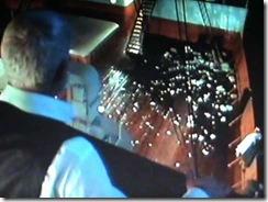 Titanic 1997, Capitão observa o gelo