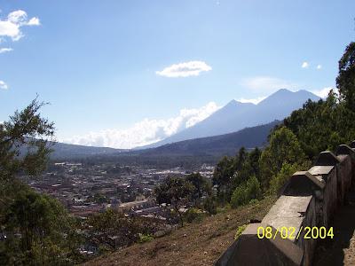antigua guatemala-volcanoes-volcano fuego-volcano acatenango-volcano agua-porn