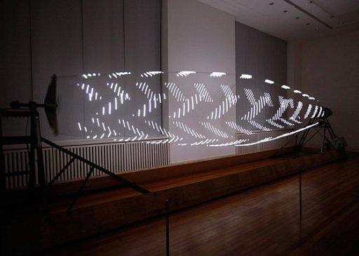 LEDな縄跳びアート(Visp) + monogocoro