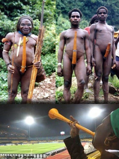 Penis boards in african tribes