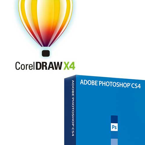 Corel Draw vs Photoshop
