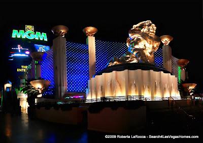 MGM Lion - MGM Grand Hotel Las Vegas