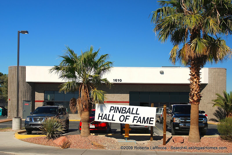 Piball Hall of Fame Las Vegas New Location 1610 Tropicana