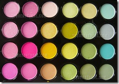 Pro 96 Full Color Eyeshadow Palette Fashion Eye Shadow001