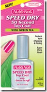 NUTRA NAIL® SPEED DRY 30 SECOND TOP COAT